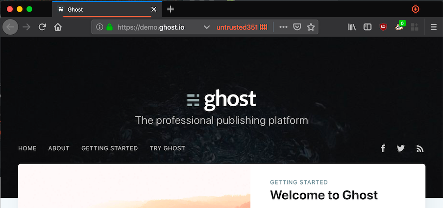 Solving CloudFlare and Let's Encrypt Issues on a new Ghost Blog